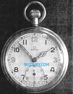 omega military pocket watch