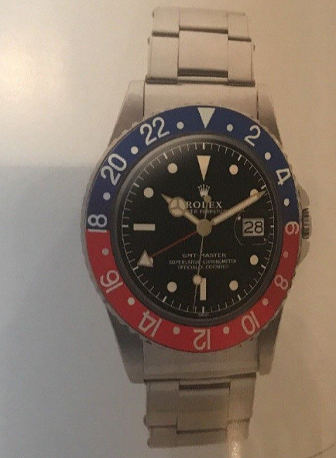 Rolex Oyster Perpetual GMT Master Model 1675