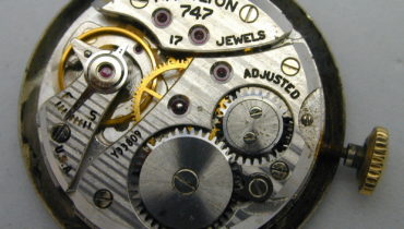 Hamilton caliber 747 movement – specifications and photo