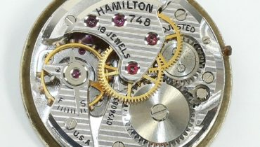 Hamilton caliber 748 movement – specifications and photo
