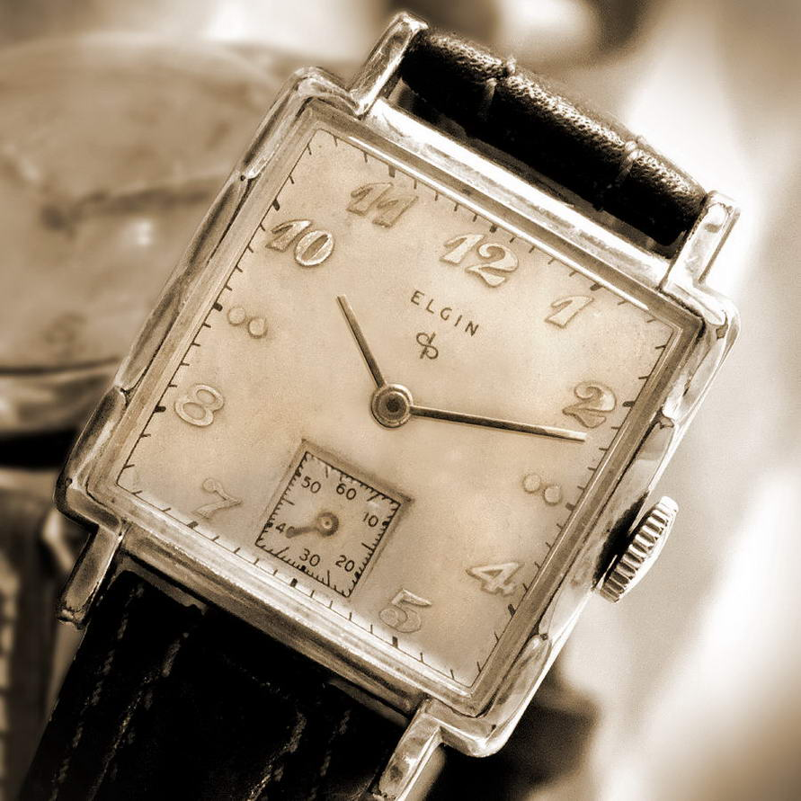 Fitting crystals in Elgin watch cases