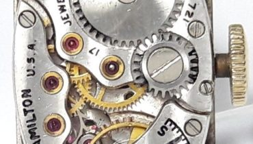 Hamilton caliber 721 movement – specifications and photo