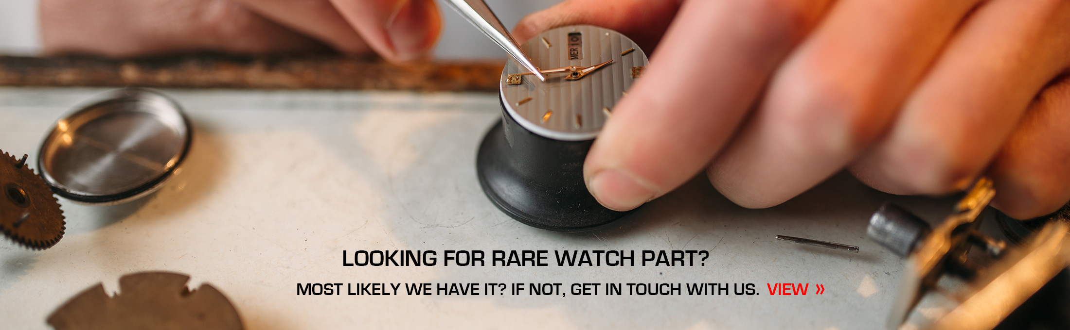Looking for rare watch part