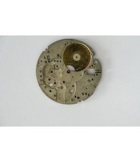Valjoux caliber 7734 main plate part 100