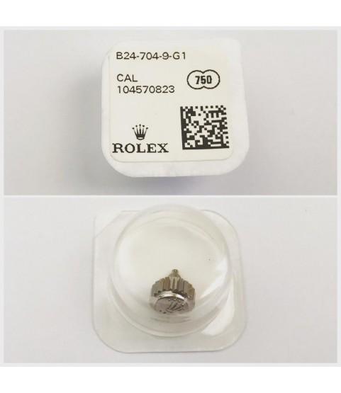 New Rolex Submariner/Daytona white gold crown part B24-704-9-G1