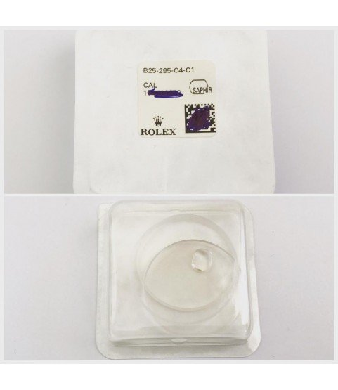 New Rolex Crystal Sapphire glass part B25-295-C4-C1 for 116135, 116138, 116139, 116188