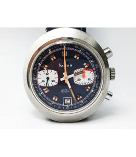 Vintage Huma Chronograph Men's Watch Valjoux 7734