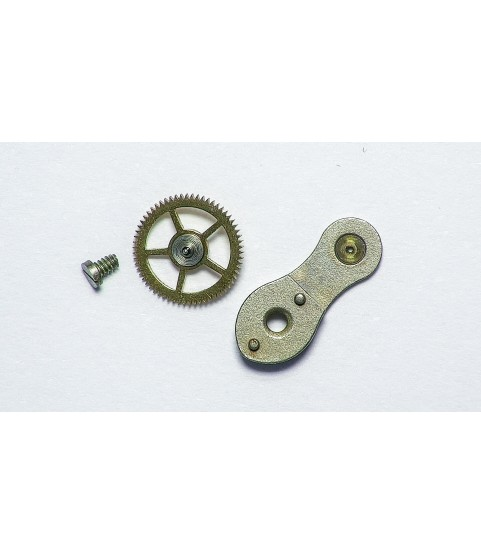 Landeron 187 coupling clutch mounted with wheel part 8080