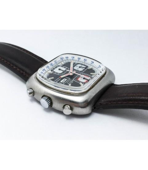 Vintage Maty Suisse Automatic Chronograph Men's Watch Valjoux 7750 42mm