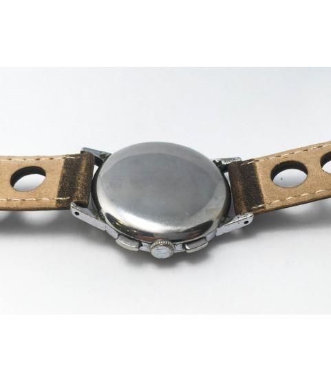 Vintage Caerix Chronograph Men's Watch Lemania 1270 1950s