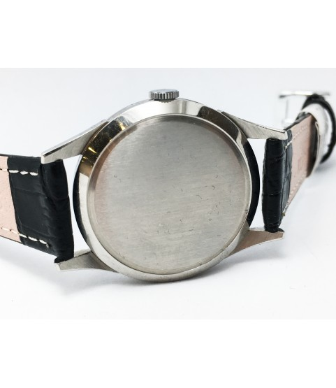 Vintage Longines Men's Watch Stainless Steel case cal. 12.68Z 1940s