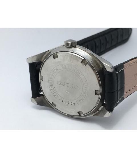 Vintage Seiko 66-7100-P Men's Watch Black Dial cal. 66B 1960s