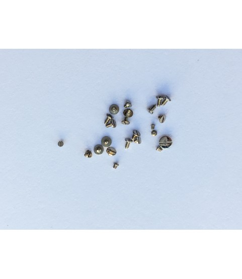Seiko caliber 6139B set of 23 screws