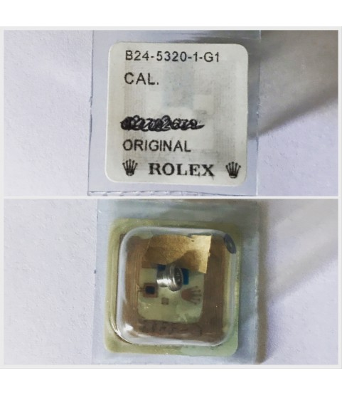 New Rolex tube crown part B24-5320-1-G1 for 1675, 5500, 1019, 1007, 1030, 1500, 1501, 5504, 5516