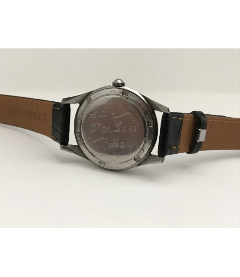 Vintage Omega Men's Watch Stainless Steel caliber 420 1950s