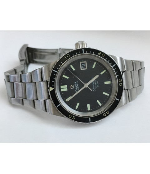 Vintage Omega Automatic Seamaster Cosmic 2000 Diver Men's Watch ref 166.137
