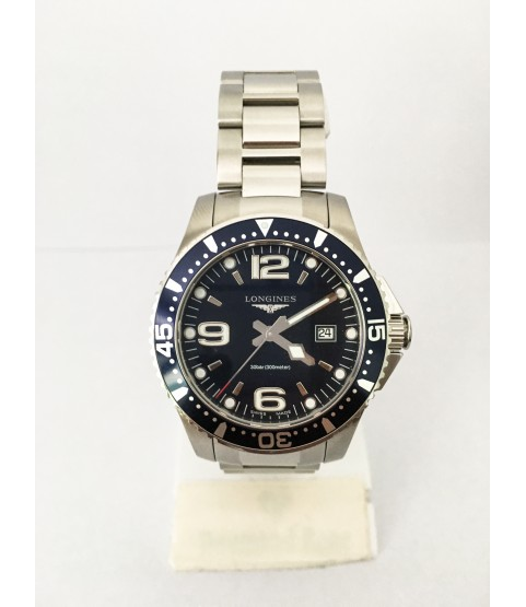 Longines HydroConquest Black Dial Men's Watch Stainless Steel L36404966