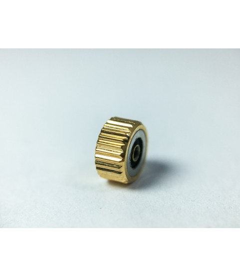 Omega gold color crown for men watches part 4.55 mm
