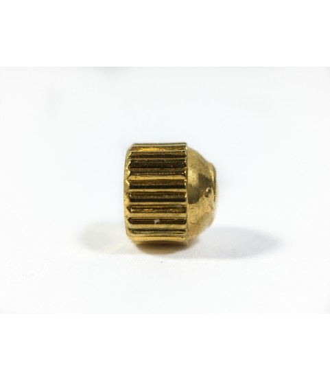 Omega gold color crown watch part 4.04 mm