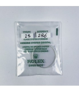 New Rolex Sapphire crystal glass 25-286 old model 14060, 14000, 14010, 14208