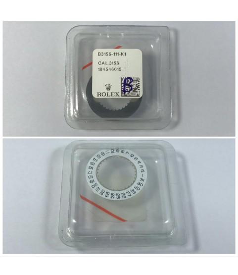 New Rolex date white disc 3136, 3156, 3187 B3156-111-K1