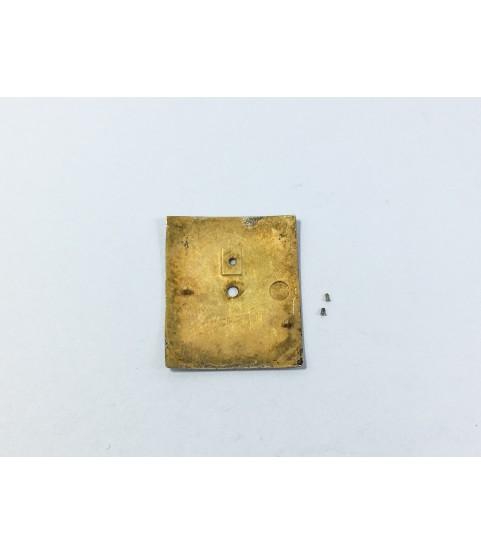 Movado caliber 375 watch dial part