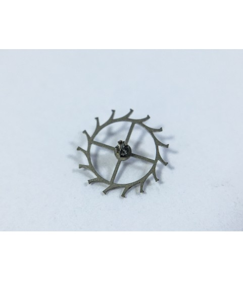 Movado caliber 375 escape wheel and pinion with straight pivots part 705