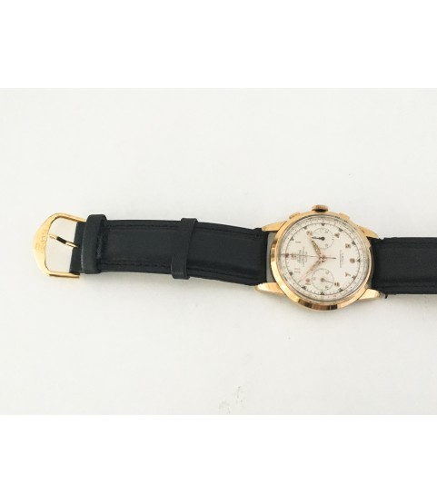 Vintage Fidelius Chronographe Suisse Men's Watch Oversized 38 mm