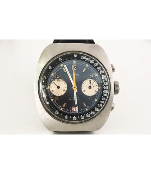 Vintage FAR Diver Chronograph Men's Watch 12 Atmospheres Valjoux 7734