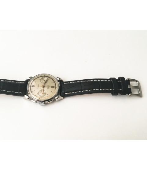 Vintage Venus Military Chronograph Watch Landeron 48