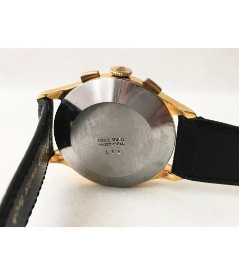 Vintage Aerni Le Locle Chronograph Men's Watch Landeron 48 1950s