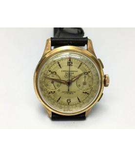 Vintage Chronographe Suisse Fidelius Men's Watch 1950s