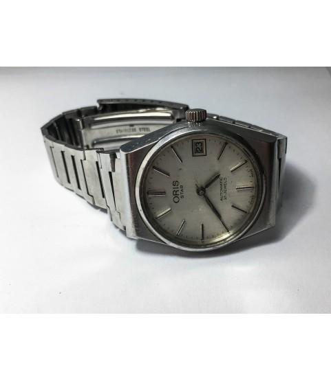 Vintage Oris Star Automatic Men's Watch ETA 2873 21 Jewels