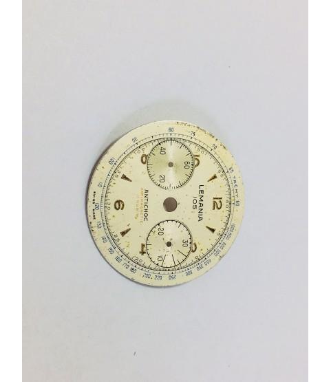 Lemania caliber 1270 Antichoc watch dial part