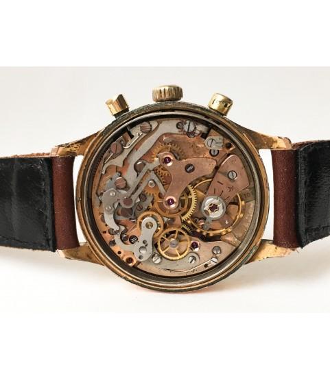 Vintage Arvor Chronograph Men's Watch Landeron 187 35.5 mm