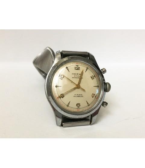 Vintage Herma Chrono Stop Men's Watch ETA 1168