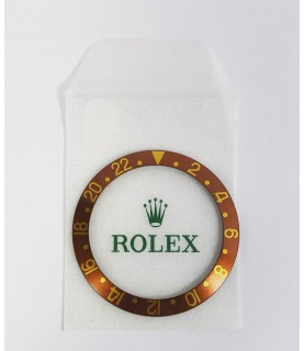 New Rolex insert bezel brown for gold GMT 1675/8