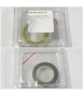 Rare arabic date disc for Rolex watches caliber 3135 yellow/champagne B3135-16101-K1