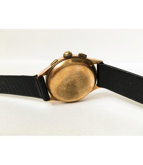 Vintage Chronographe Suisse 18k Solid Gold Men's Watch Venus 170