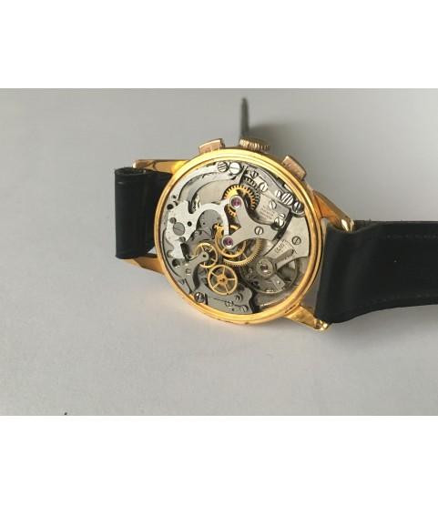 Vintage Victoria Chronograph Men's Watch Venus 188 1950s