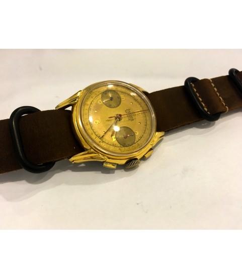 Vintage Zedon Geneve Chronograph Men's Watch Venus 175 from 1950s