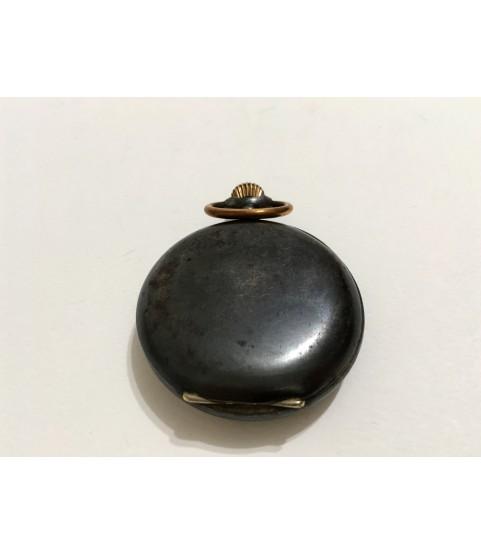 Antique Hebdomas Pocket Watch 8 Days Porcelain Dial 1940