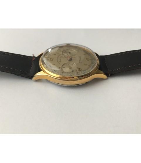 Vintage Sada Chronograph Men's Watch from 1950s Landeron 48