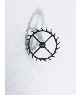 Longines 6651 escape wheel and pinion with straight pivots part 705