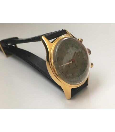 Vintage Dreffa Chronograph Men's Watch from 1940s 37 mm