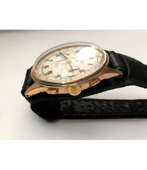 Vintage Dulfi Chronograph Men's Watch from 1950s 37.5 mm