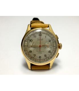 Vintage Dreffa Chronograph Men's Watch from 1940s Landeron 51