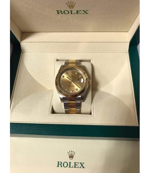 Rolex Datejust II Men's Watch with Diamonds Ref. 116333 with warranty