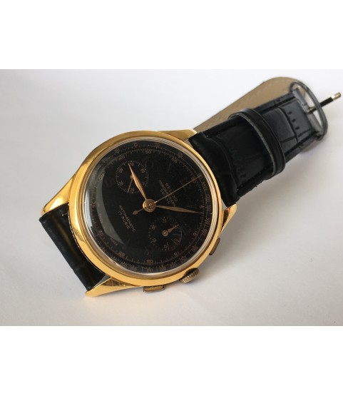 Vintage Reluxo Chronograph Men's Watch 1950s Landeron 48