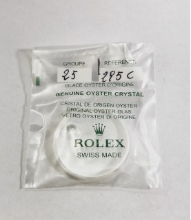 New Rolex Sapphire Crystal glass old production 25-295C2 16800, 16700, 16710